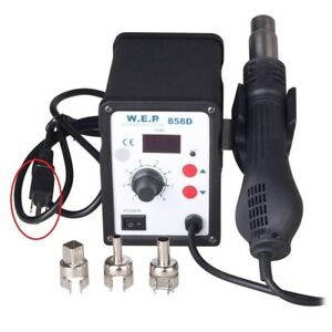 New Wep 858d 110v Hot Air Rework Soldering Station For Rework Repair