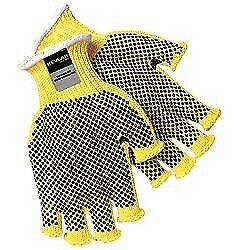 Memphis 9369s Fingerless 2 sided Pvc Dots Size Small 12 Pair