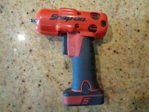 Snap On 1 4 Drive Ct725 14 4v Impact Wrench With Battery