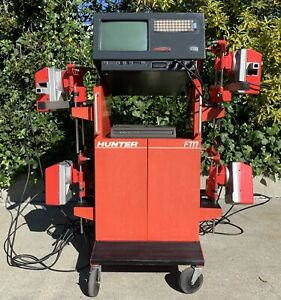 Hunter F111 Wheel Alignment Machine With Sensors