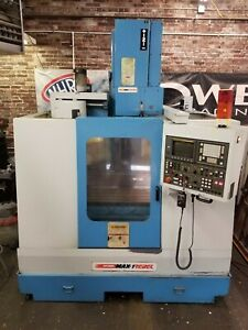 Yci Supermax Max 1 Rebel Cnc Vertical Machining Center