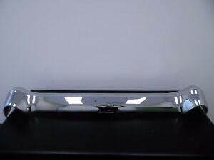 1956 Chevy Smoothie Rear Bumper triple Plated Original