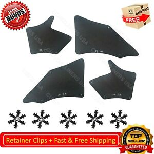 For Toyota Tacoma 05 20 Fender Liner Mud Flaps Splash Guards Shield Apron Seal