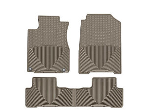 Weathertech All Weather Floor Mats For Honda Cr V 2012 2016 1st 2nd Row Tan