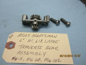 Atlas Craftsman 6 101 618 Lathe Traverse Carriage Gear Assembly