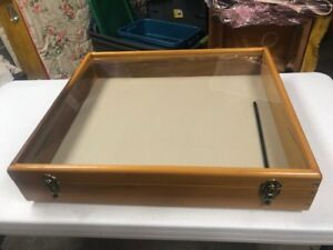 Glass Top Display Case