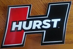 Hurst Shifters Racing Decal Sticker Hot Rod Drag Race Rat Rod Ships Free