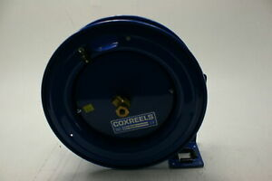 Coxreels Plpl150 Low Pressure Retractable Air Water Oil Hose Reel 1 4 Id 50