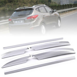 Top Roof Rack Cargo Luggage Side Bars Rails For Hyundai Ix35 2013 2014 2015