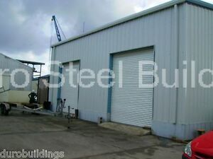 Durobeam Steel 50x60x16 Metal Building Garage Workshop Prefab Structures Direct