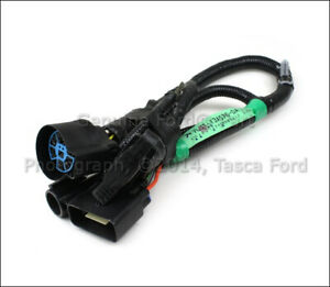 Oem 7 Pin Connector To Trailer Wiring Harness 05 07 Ford F 150 5l3z 13a576 Ba