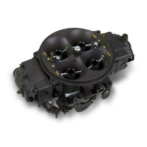 Holley Carburetor 0 80924hb 1400 Cfm No Choke Black Anodized Hard Core Gray