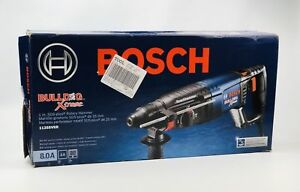 Bosch 11255vsr 1 In Sds plus Bulldog Xtreme Rotary Hammer 8 0a New