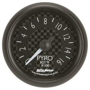 Auto Meter Boost pyrometer Gauge 8044 Gt 0 To 1600 f 2 1 16 Electrical