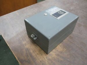 Allen bradley Enclosed Contactor 709 a0t 120 240v Coil Used