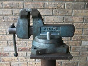 Wilton Vintage Bench Vise With 4 Inch Jaws