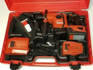 Hilti Te 6 a22 Cordless Hammer Drill Kit In Plastic Case Brand New