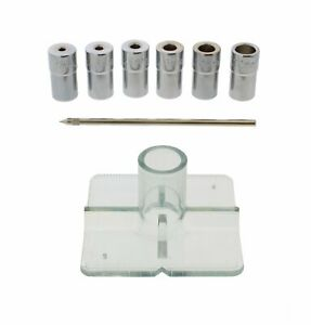 Dct Metric Drill Bit Guide Centering Punch 8 piece Center Drilling Set Kit