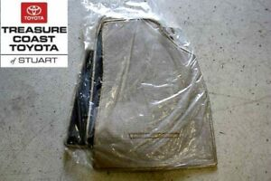 New Toyota Highlander Beige 3 pc Floor Mats And Clips