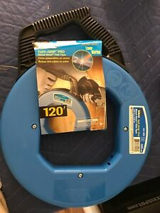 Ideal Fish Tape 1 8 In X 120 Ft Blued Steel Ideal 31 056 New