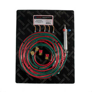 Gentec Small Torch Oxy acetylene Kit 12 Foot Hoses With Tips 2 6 14 504