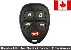 1x New Replacement Keyless Entry Remote Key Fob For Gm Kobgt04a 15788020