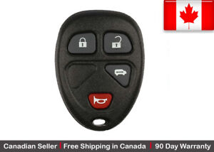 1 New Replacement Keyless Entry Remote Key Fob For Gm Kobgt04a 15788021 15100812