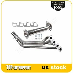 Fits 1992 Nissan 240sx Base 2 4l Stainless Steel Header Manifold Exhaust