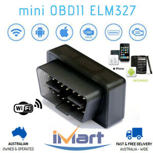 Mini Elm327 Obd2 Wifi Car Diagnostic Scanner Tool Iphone Android For Peugeot