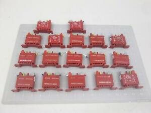 Lot Of 17 Gordos Crouzet Dr odc24 I o Module T64446