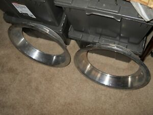 Nos Trim Rings 71 Cuda Challenger Charger Gtx Road Runner Hemi 440 Six Pack 15x7