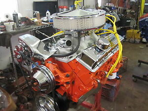 383 Stroker Chevy Engine On Sale Read Listing High Flow Heads Turn Key Complete