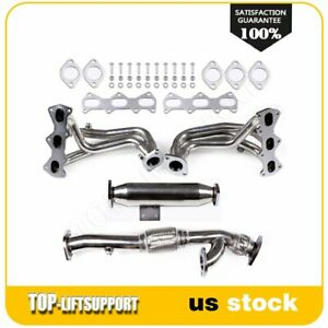 For Hyundai 2004 2006 Tiburon 2 7l Dohc Stainless Steel Header Exhaust Manifold