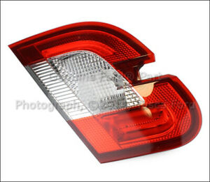 New Oem Lh Rear Inner Tail Light Red Surround 2010 12 Ford Taurus Ag1z 13405 J