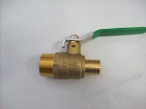 1 Mpt Ball Valve X 1 Pex Box Of 4