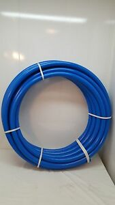 100 1 1 4 Non oxygen Barrier Blue Pex Tubing For Heating And Plumbing