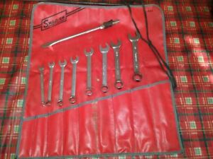 Used Snap On Standard Wrench Set 9 Pieces Plus 1 Free