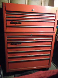 Snap On Kra Top Bottom 40 X 20 Toolbox Storage All Roller Bearing Drawers