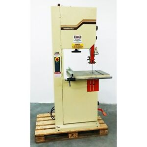 20 Bandsaw Band Saw Wood Tannewitz 20 1ph With Table Extension More 710923