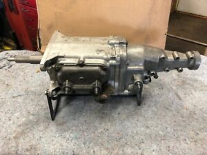 1963 Chevy Corvette Impala Muncie M20 Wide Ratio Transmission 4 Speed Spd Rare