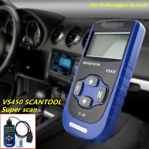 New Vgate Scan Vs450 Vag Can Obdii Scantool Reset Mil Osl Airbag Abs Jetta Audi