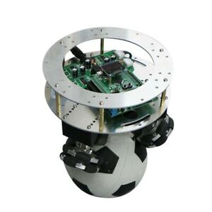 Ball Balance Robot Chassis Controller System Kit Alloy Frame Omni Wheels X sz