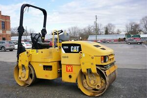 2011 Cat Cb 34 Tandem Roller 4 Ton Really Good Shape