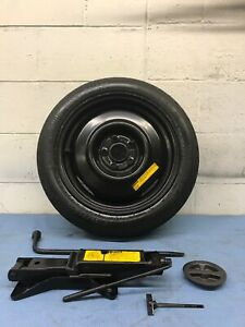 82 05 89 Chevy Cavalier Spare Tire wheel And Jack Kit T115 70d14