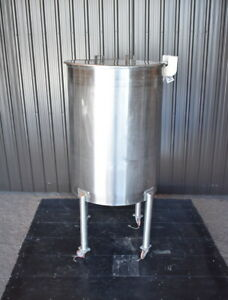 Used Stainless Steel Tank 120 Gallons Sanitary