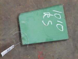 John Deere 1010 Tractor Right Side Left Fuel Tank Shield Tag 132