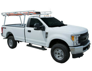 Buyers Products 1501400 Clear Anodized Aluminum Truck Ladder Rack