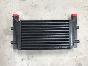 Garrett Aluminum Air air Intercooler Core Is 17 X 10 X 3 2 In Inlet And Outlet