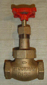 Stockham Globe Valve 1 New B 22 same Day Shipping