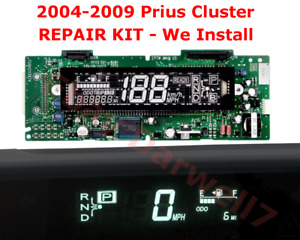2004 2009 Prius Instrument Cluster Combination Dash Meter Speedometer Repair